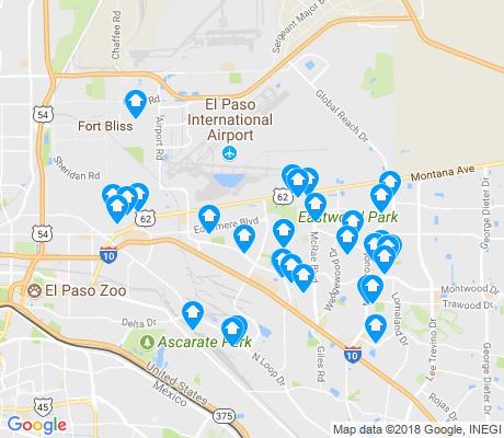 79915 Zip Code Map.79925 El Paso Apartments For Rent And Rentals Walk Score