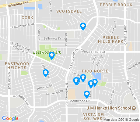 map of Album apartments for rent