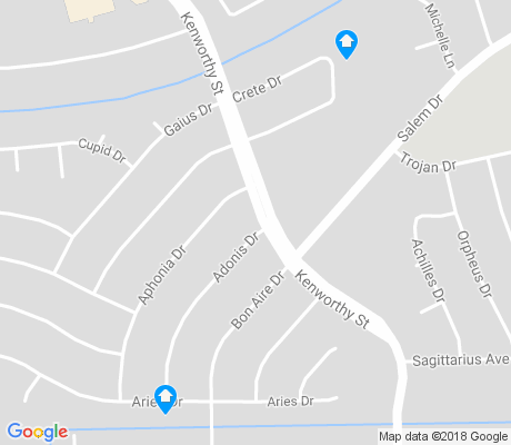 map of Apollo Heights West apartments for rent
