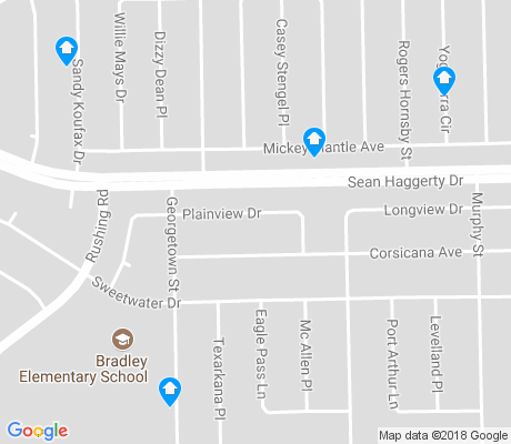 map of Bradley apartments for rent