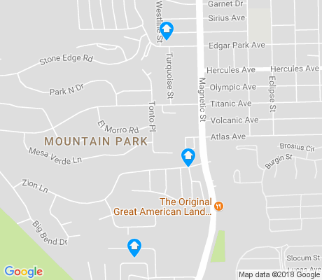 map of Devil's Tower apartments for rent