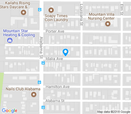 map of Military Heights apartments for rent