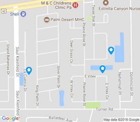 map of Montana East apartments for rent