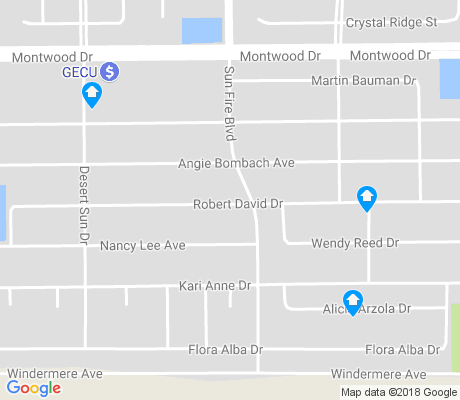 map of Montwood Heights apartments for rent