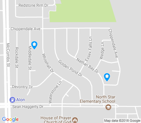 map of Northtowne Village apartments for rent