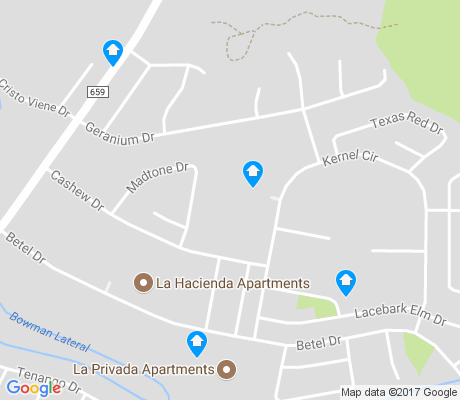 map of Pecan Grove apartments for rent