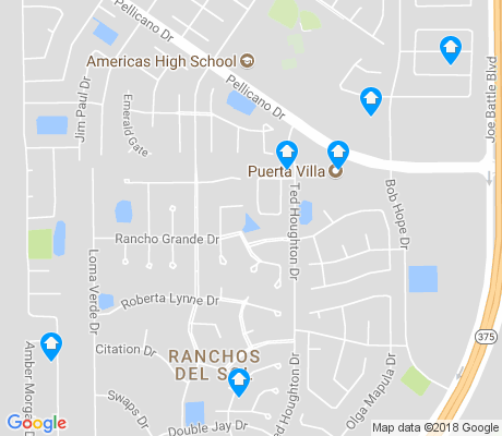 map of Ranchos del Sol apartments for rent