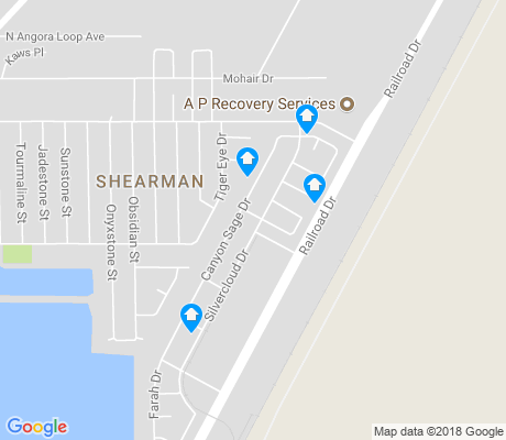 map of Shearman apartments for rent