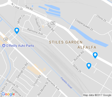 map of Stiles Garden apartments for rent