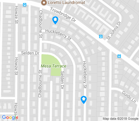map of Timberwolf apartments for rent