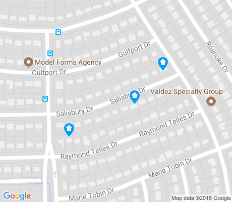 map of Tobin Park apartments for rent
