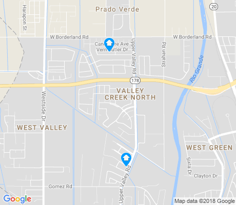 map of Valley Creek North apartments for rent