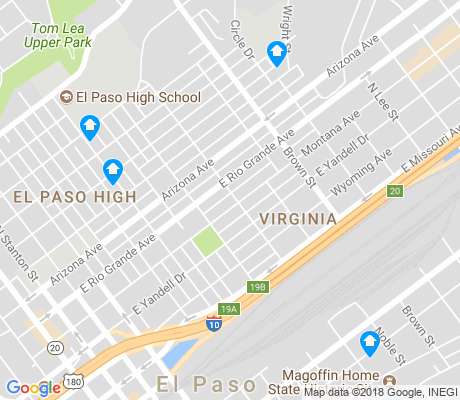 map of Virginia apartments for rent