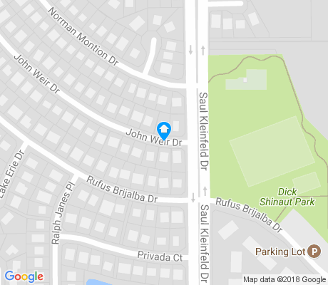 map of Vista Hills East apartments for rent