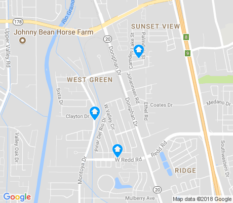 map of West Green apartments for rent
