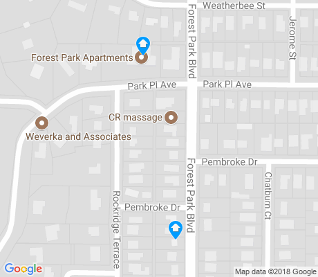 map of Berkeley Place apartments for rent