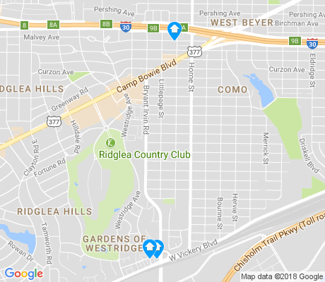 map of Como apartments for rent