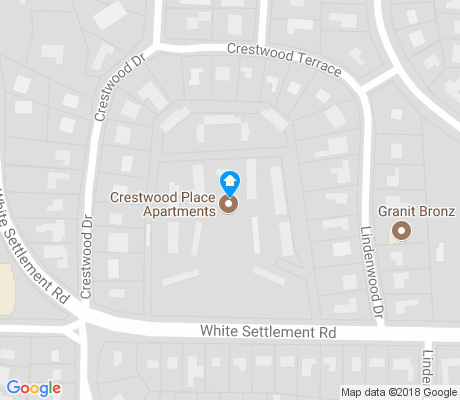 map of Crestwood apartments for rent