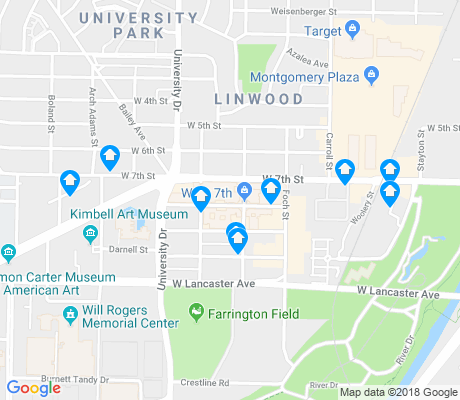 map of Cultural District apartments for rent