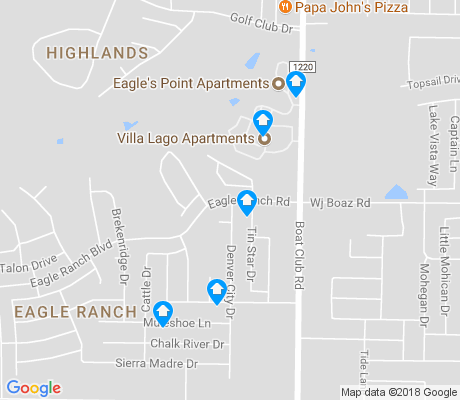 map of Eagle Ranch apartments for rent