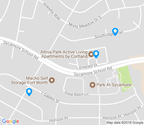 map of Far Southwest apartments for rent
