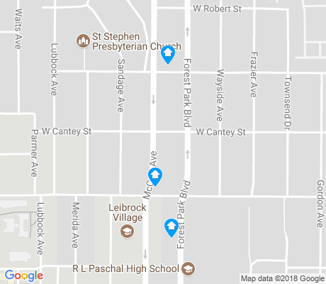 map of Frisco Heights apartments for rent