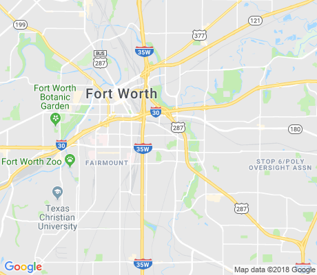 map of Historic Southside apartments for rent
