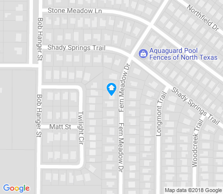 map of Lake Crest Estates apartments for rent