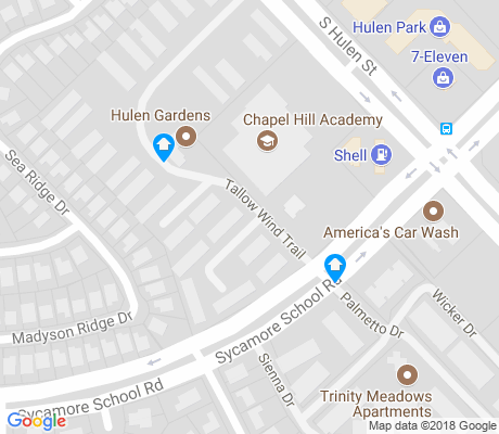 map of Meadows of Candleridge apartments for rent