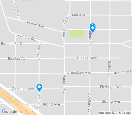 map of Mitchell Boulevard apartments for rent
