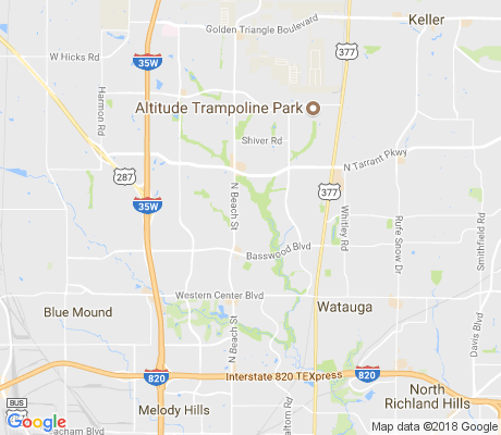 map of Park Bend Estates apartments for rent