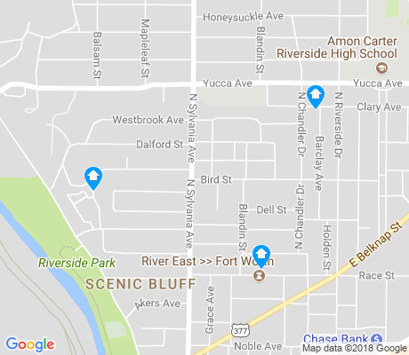 map of Scenic Bluff apartments for rent