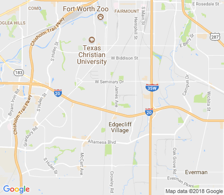 map of Seminary Hill apartments for rent