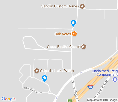 map of South Lake Worth apartments for rent
