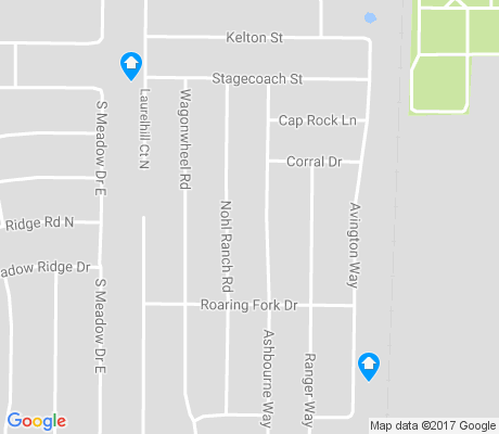 map of South Meadows Crossing apartments for rent