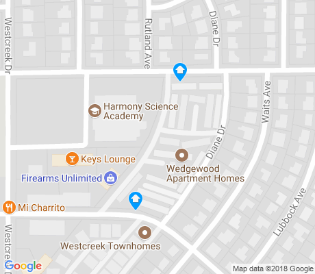 map of Southwest Hills apartments for rent