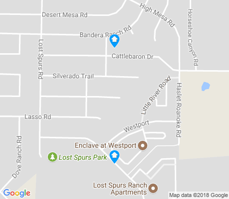 map of The Ranches apartments for rent