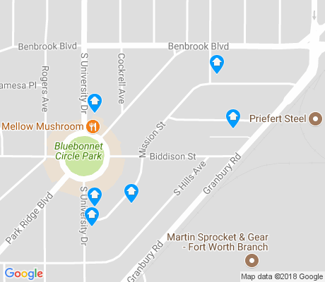 map of University Court apartments for rent