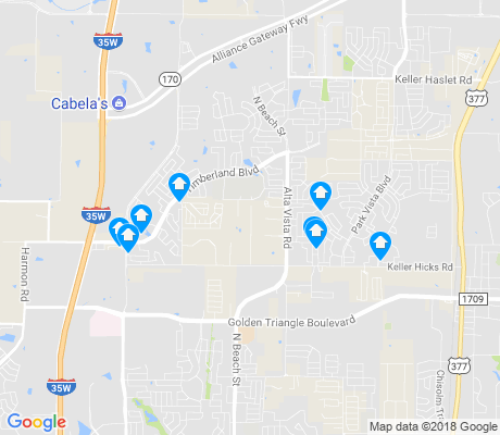 map of Villages of Woodland Springs apartments for rent