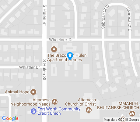 map of Wedgwood Central apartments for rent
