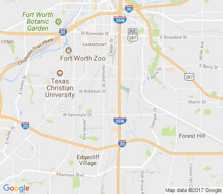 map of Worth Heights apartments for rent