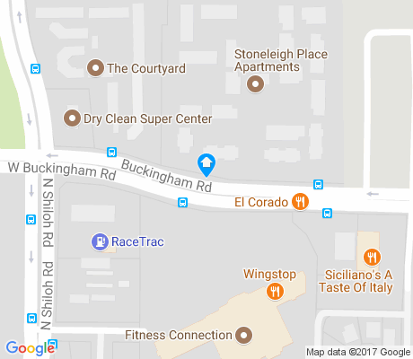 map of Creekside Village apartments for rent