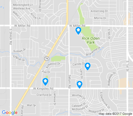 map of Devonwood apartments for rent