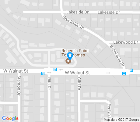 map of Freeman apartments for rent