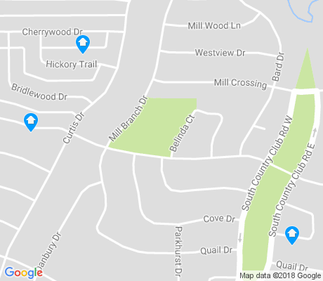map of Mill Creek Crossing apartments for rent