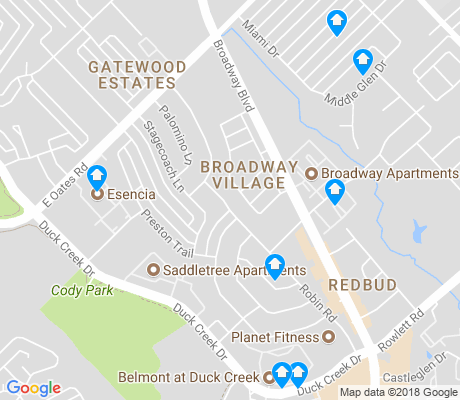 map of New West apartments for rent
