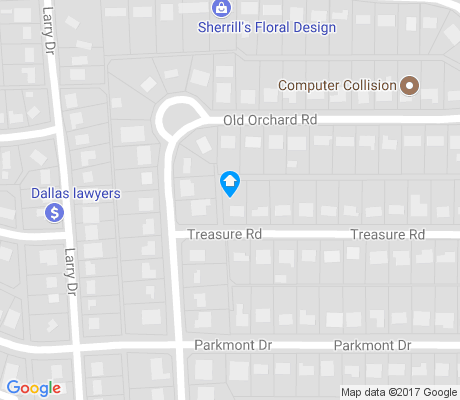 map of Orchard Hills apartments for rent