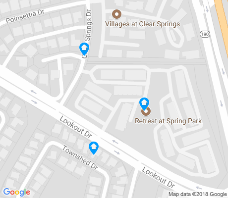 map of Spring Park apartments for rent
