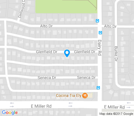 map of Terrace-Bellaire apartments for rent