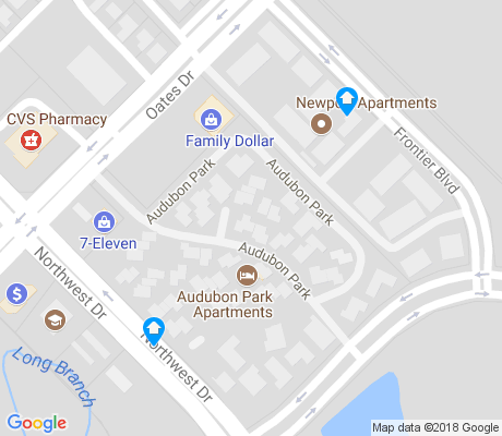 map of Trails apartments for rent